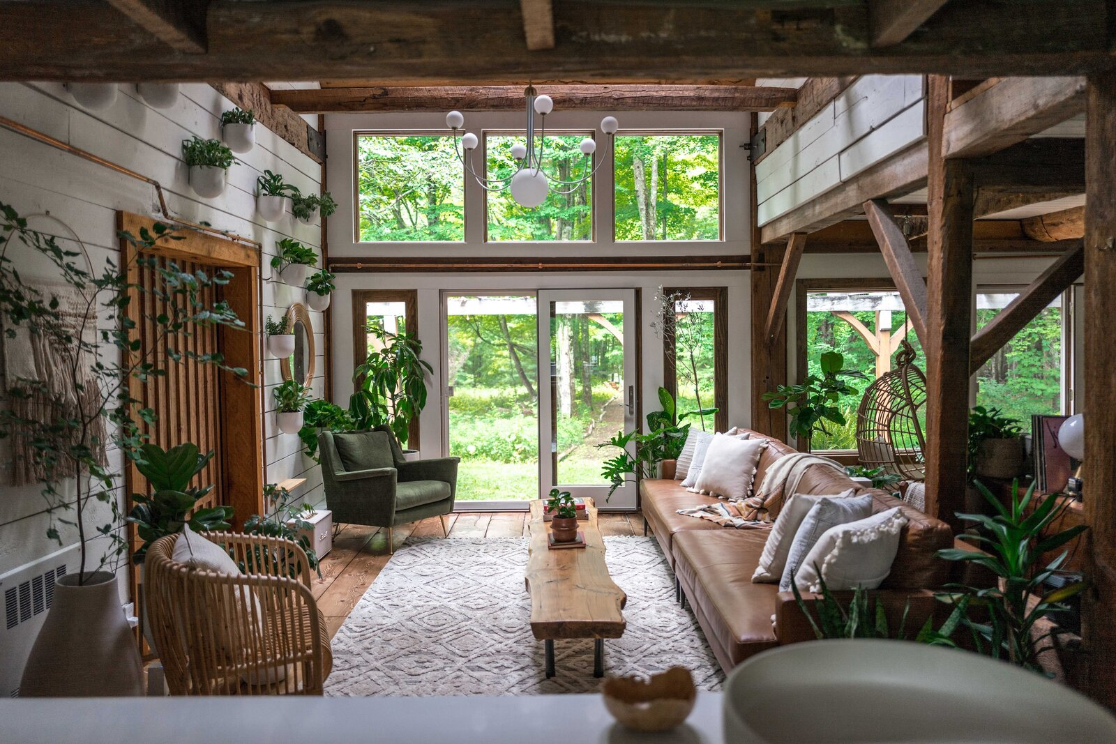 The Hunter Barnhouse by Danielle and Ely Franko living room