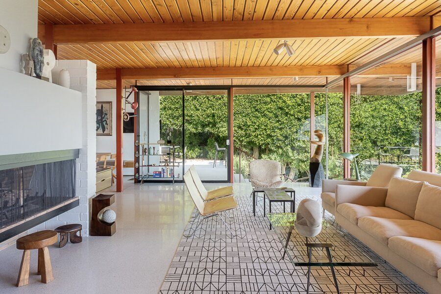 An Impeccably Renovated Midcentury by Case Study Architect Craig Ellwood Asks $3.75M