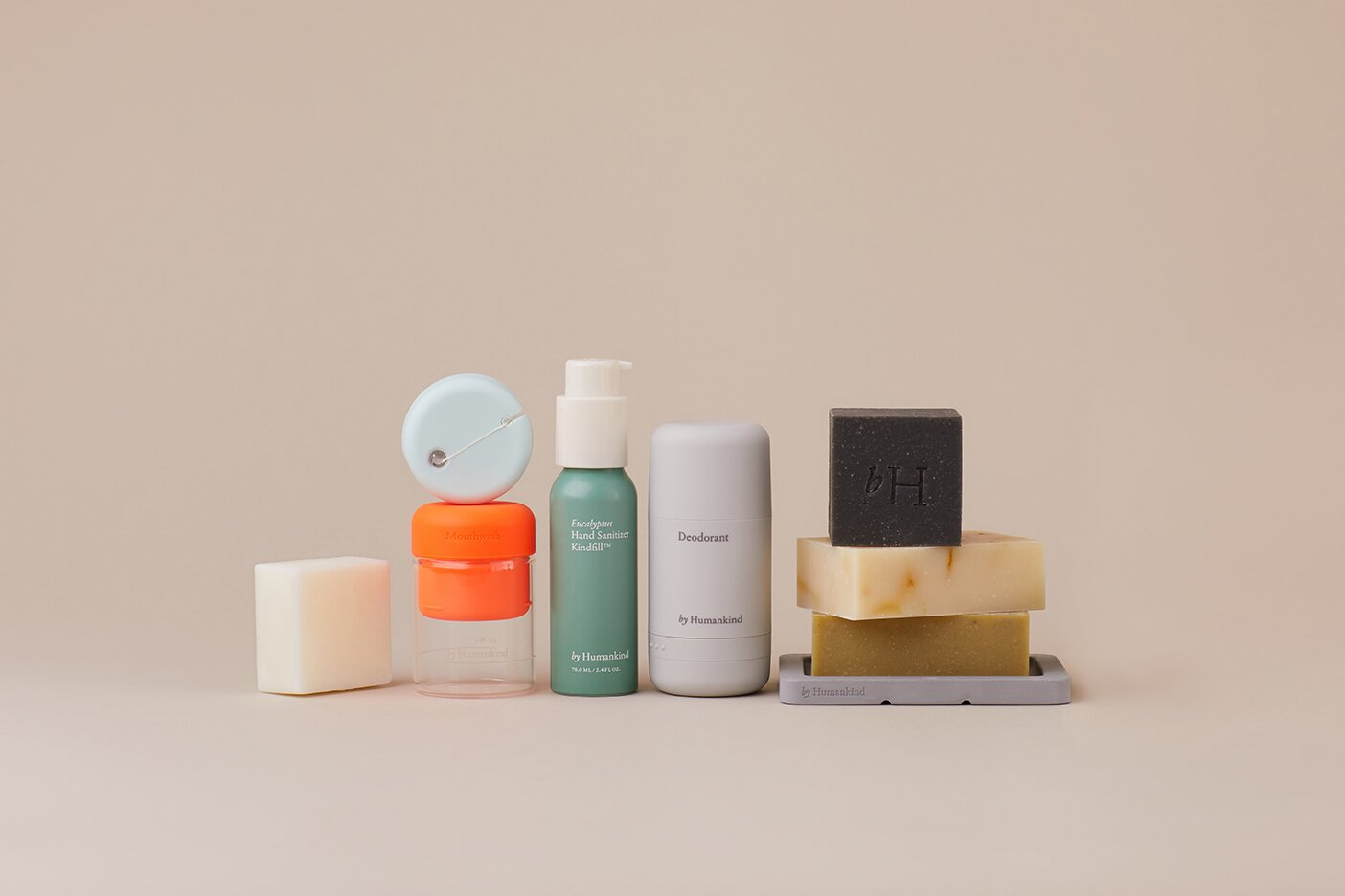 By Humankind offers personal care products with refillable containers and little to no packaging waste.  Photo 9 of 11 in Going Circular Is the New Green—Here's How Home Goods Companies Are Closing the Loop