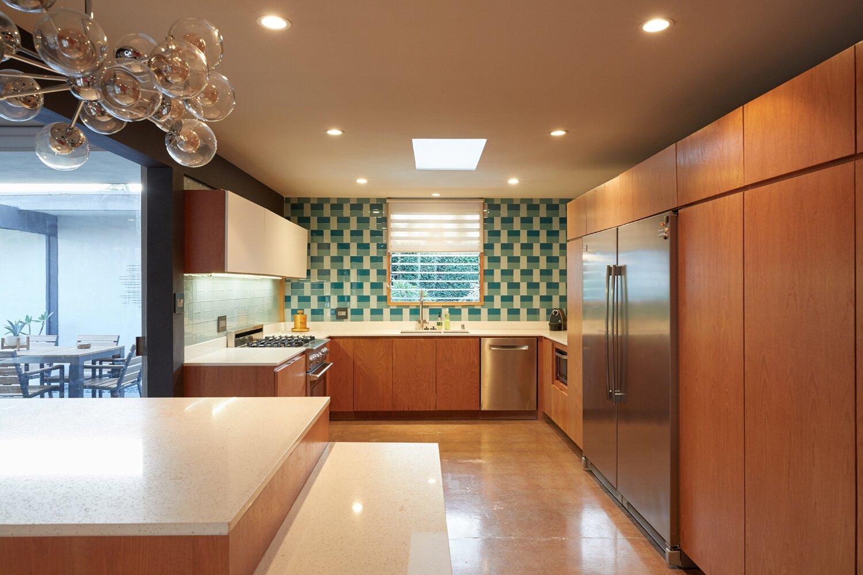Kitchen of Whittier Midcentury Home