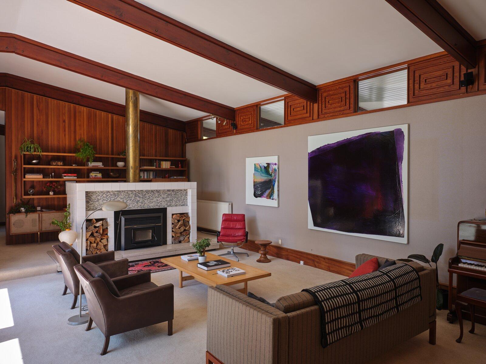 The Fletcher House living room