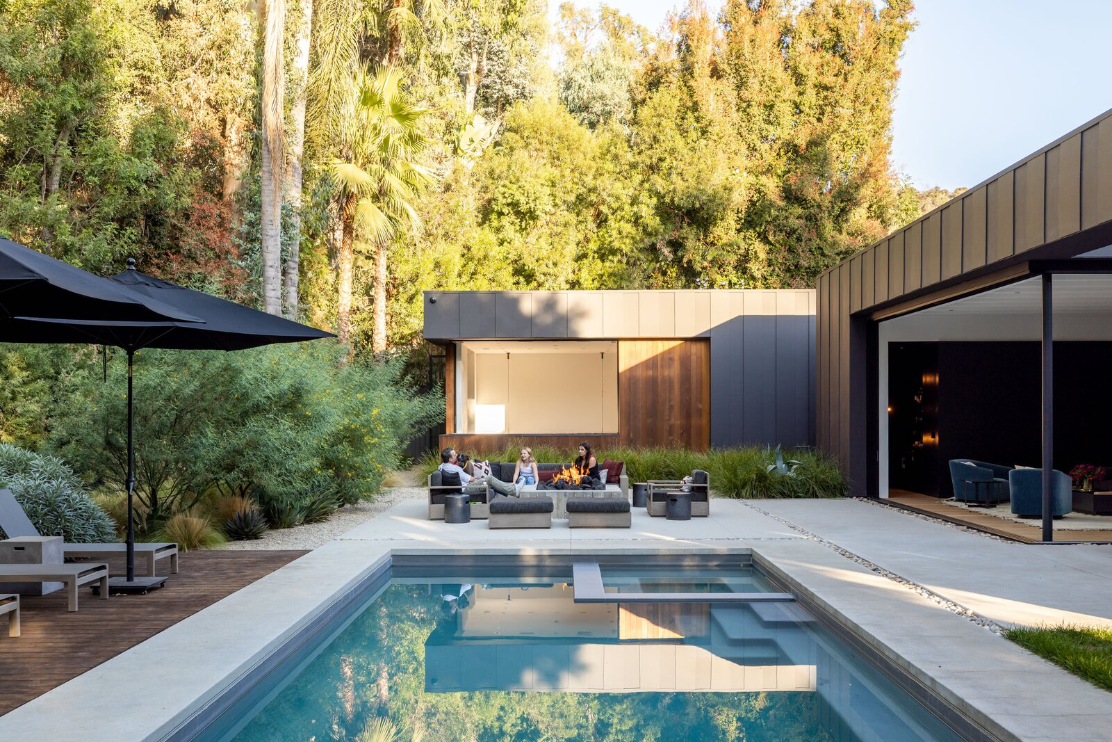 Exterior of Laurel Hills Residence by Assembledge+