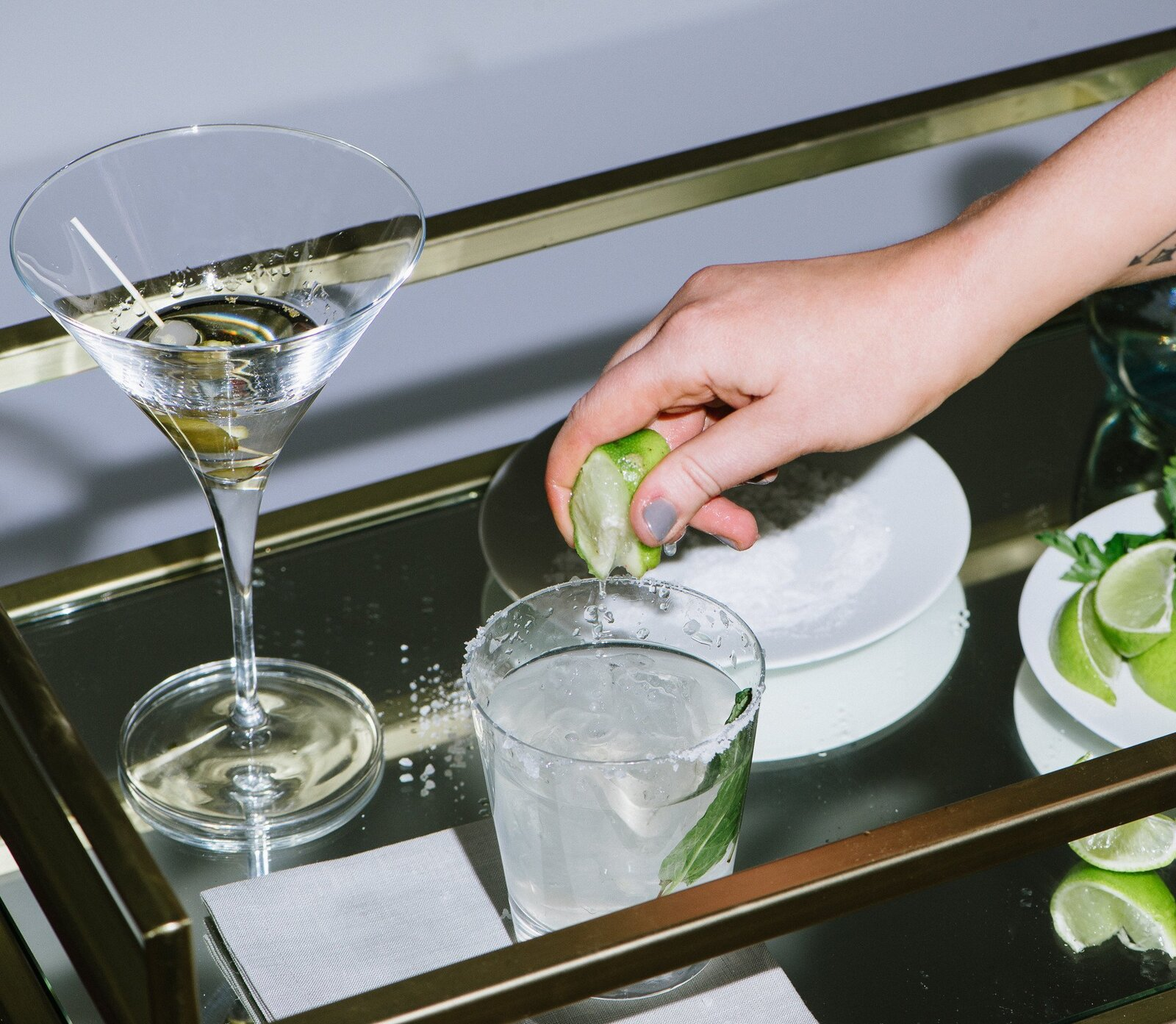 Cocktail and mocktail–lovers rejoice: 'tis the season for making the merriest of beverages. These spirited gifts are the perfect opportunity to outfit the bar cart of your favorite budding bartender's dreams.  Photo 1 of 1 in 31 Barware Gifts Sure to Shake Things Up for the Home Mixologist