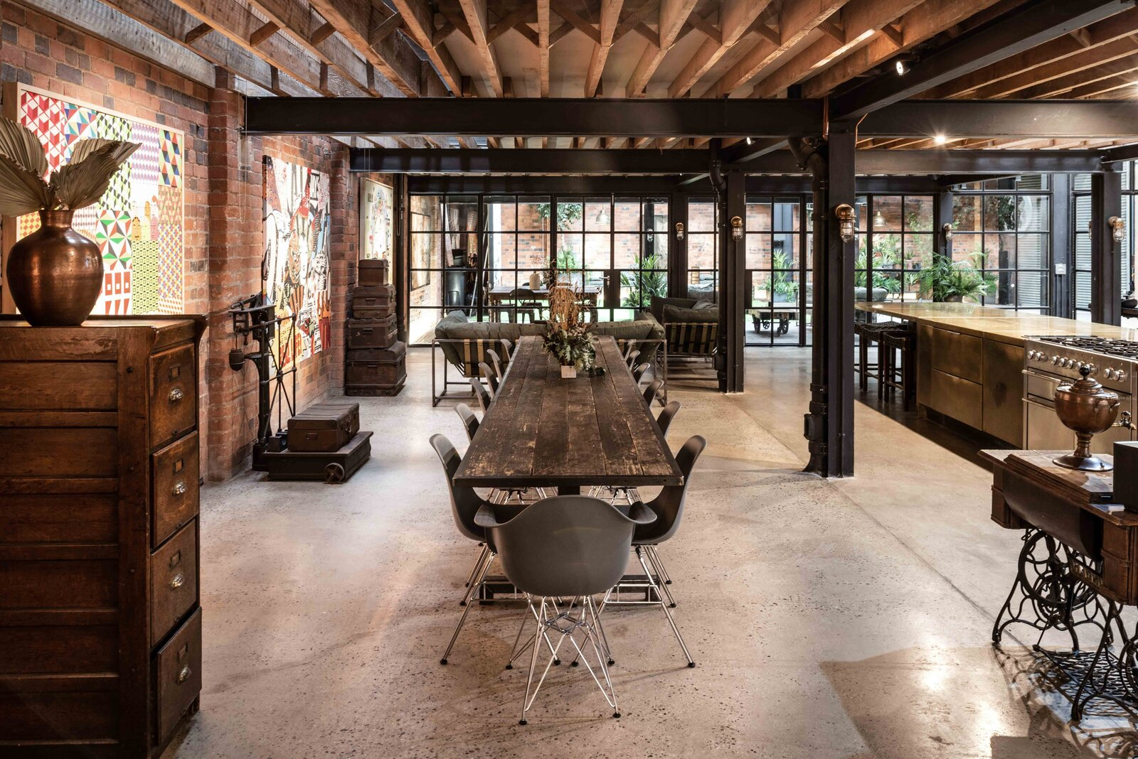 "The main residence encompasses the ground floor  Photo 2 of 15 in This Live/Work Warehouse That Starred in Steven Spielberg's ""Ready Player One"" Lists for £2.75M"