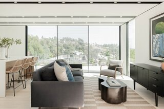 Best 60 Modern Living Room Recessed Lighting Design Photos And Ideas Dwell