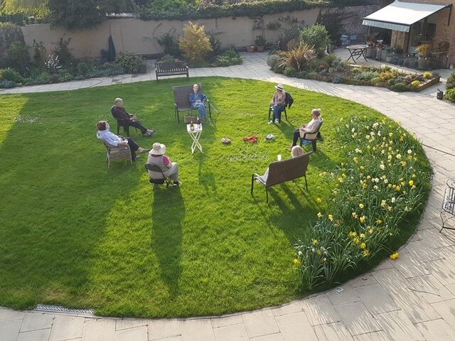 Social distancing is simple at New Ground thanks to expansive gardens.  Photo 8 of 11 in Can Co-Living Survive in a Socially Distanced Future?