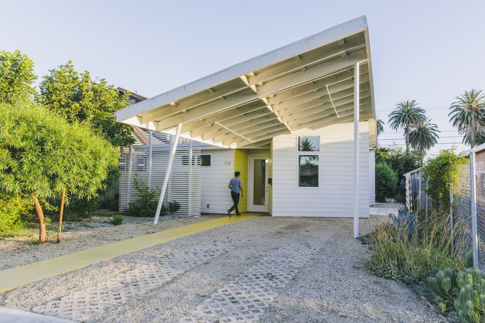 Exterior of Starter Home by Lehrer Architects
