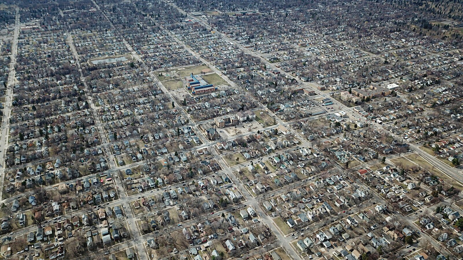 """A view of North Minneapolis, where, Ilhan Omar says, nearly half of all renters have experienced eviction in the last year. """"It's clear we have a housing crisis in the Twin Cities,"""" says the U.S. representative, whose district covers most of Minneapolis and some of its suburbs. """"Thousands are living in temporary shelters or transitional housing, most of them caught in a perpetual cycle of housing insecurity.""""  Photo 2 of 2 in Affording America: Representative Ilhan Omar Wants Homes for All"""