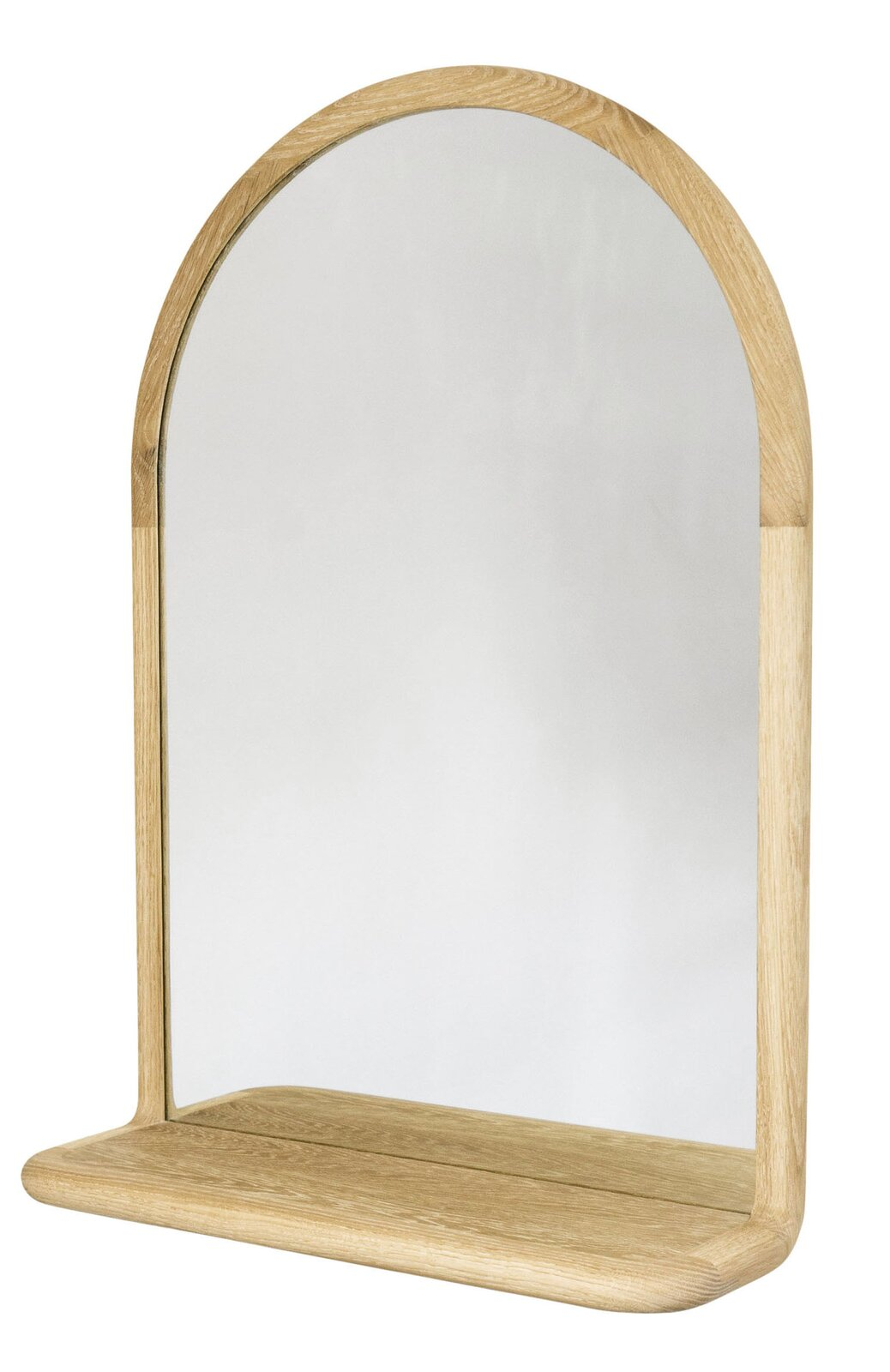 Matt and Amanda Eastvold have been crafting timeless modern pieces out of their shop in Northfield, Minnesota, for more than a decade. The latest addition to their Mora furniture collection is this refined mirror, which can be done in walnut, white oak, or white ash.  Photo 4 of 12 in Made in America: Even Less Than an EKTORP