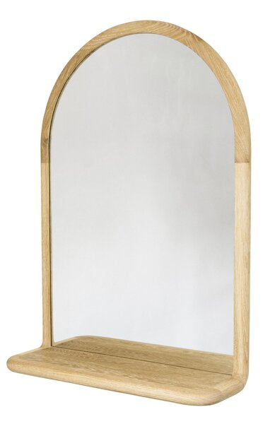 Matt and Amanda Eastvold have been crafting timeless modern pieces out of their shop in Northfield, Minnesota, for more than a decade. The latest addition to their Mora furniture collection is this refined mirror, which can be done in walnut, white oak, or white ash.