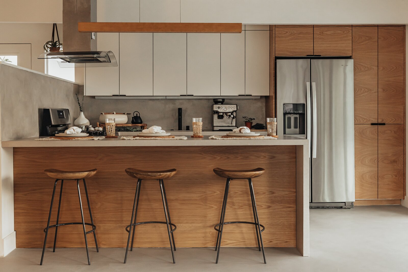 Kitchen in Alexander Home by Lilly Kim