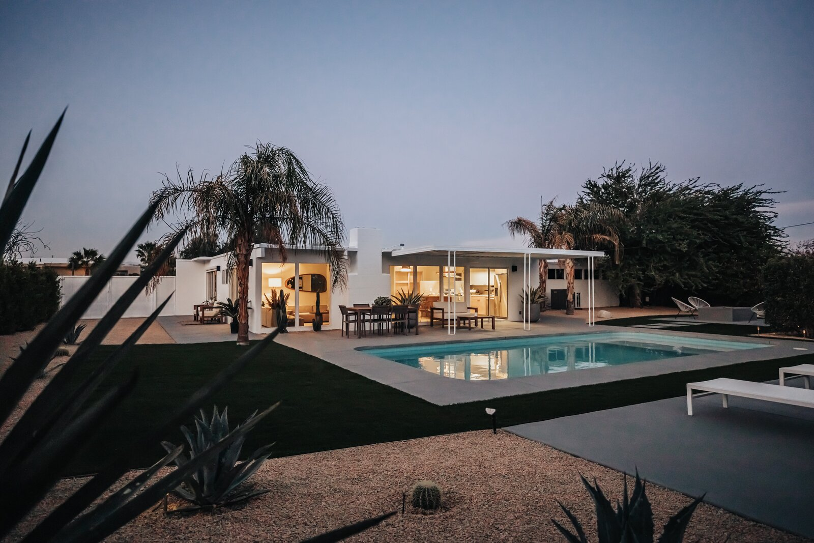 Backyard of Alexander Home by Lilly Kim