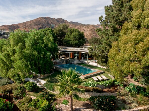 The Malibu Crest residence has the most desirable spot on the hill because it was the first house built there in 1949.