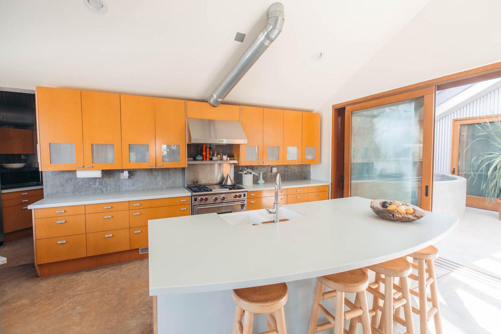 Bob Biggs Concrete Fortress kitchen