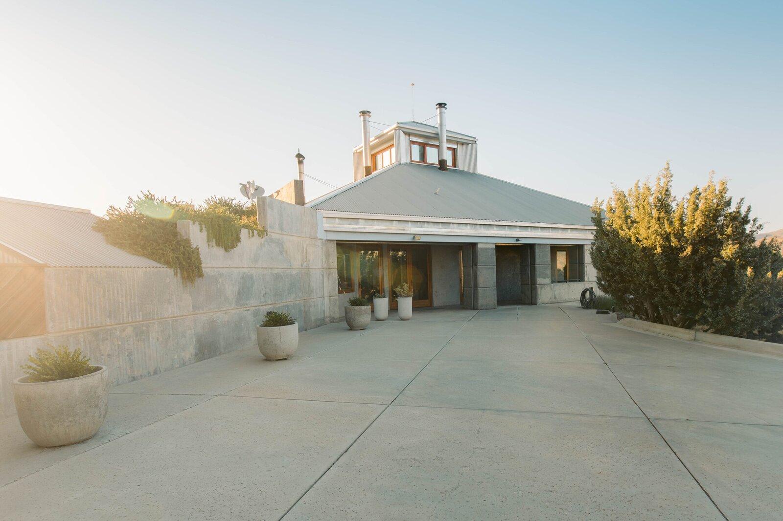 Bob Biggs Concrete Fortress exterior
