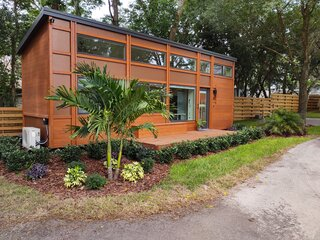 For $1,000 a Month, You Can Own a Tiny Home at This Village in Florida