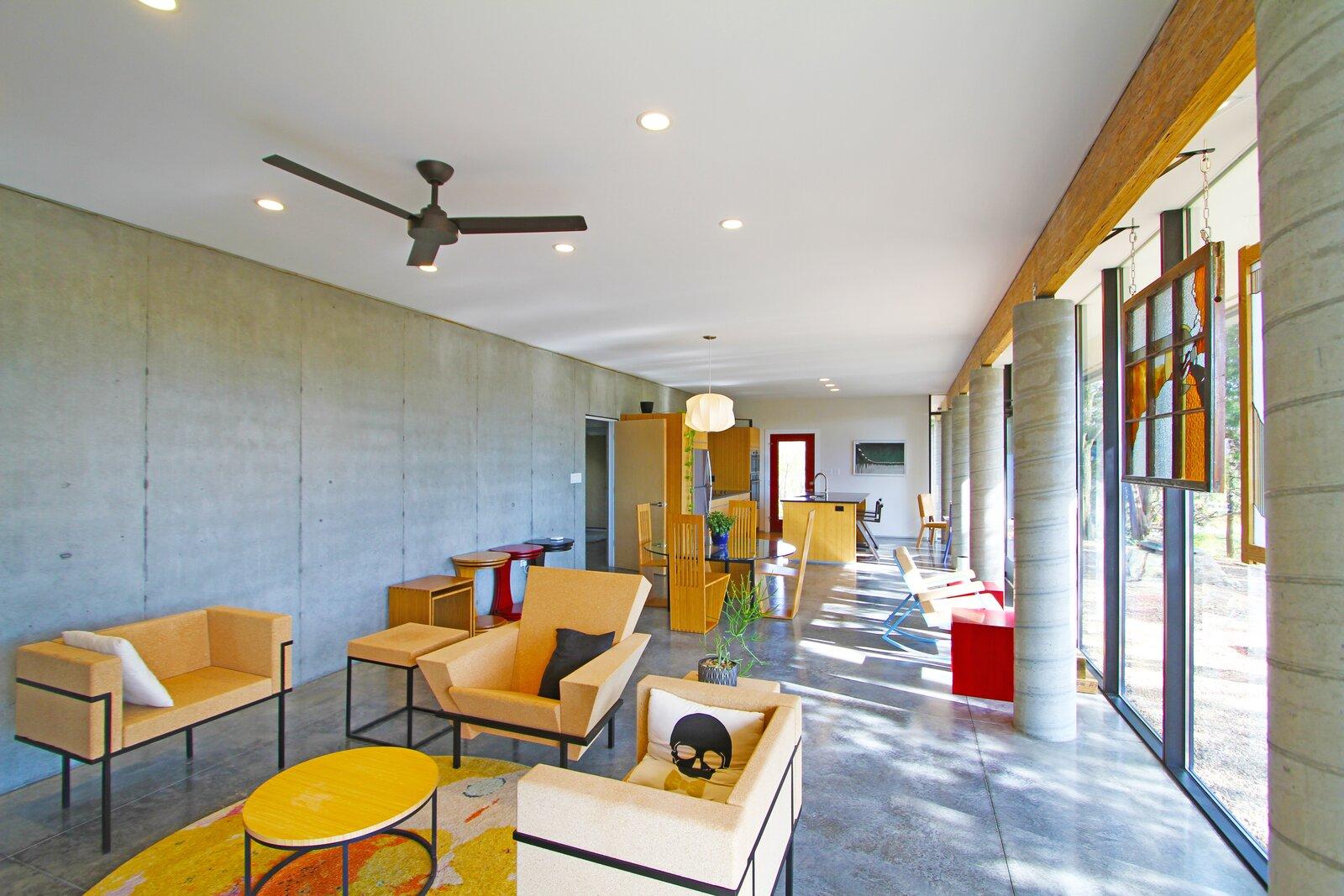Ha-Smith House living area