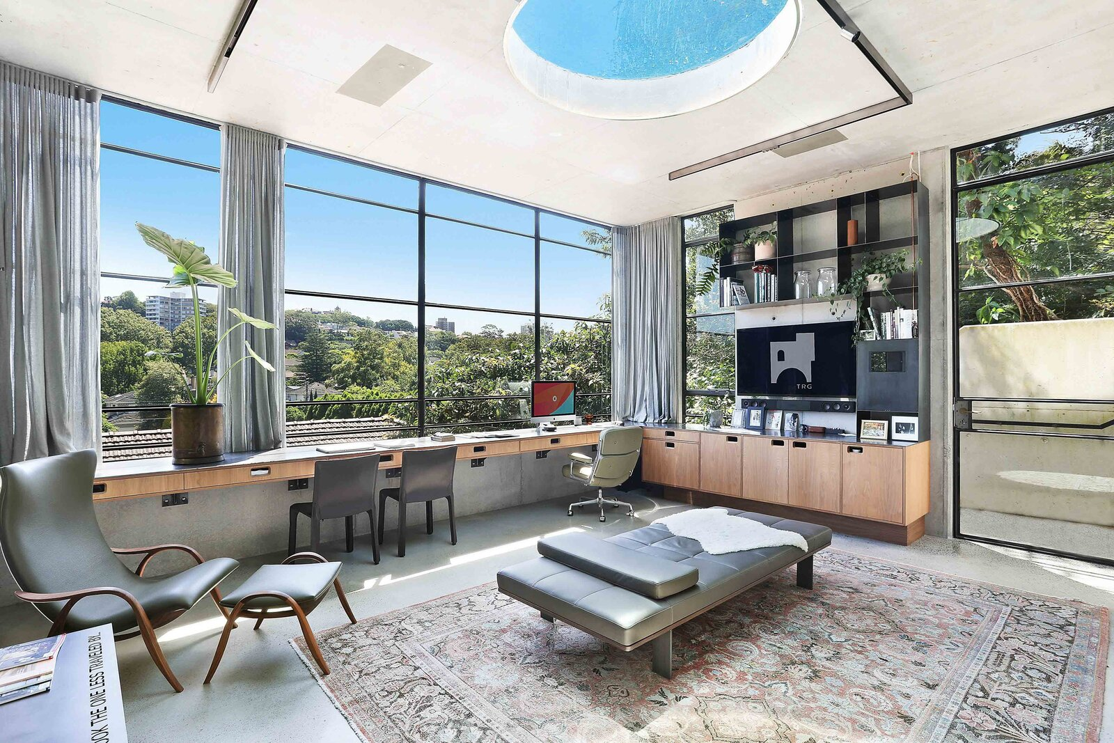 Sydney concrete home office