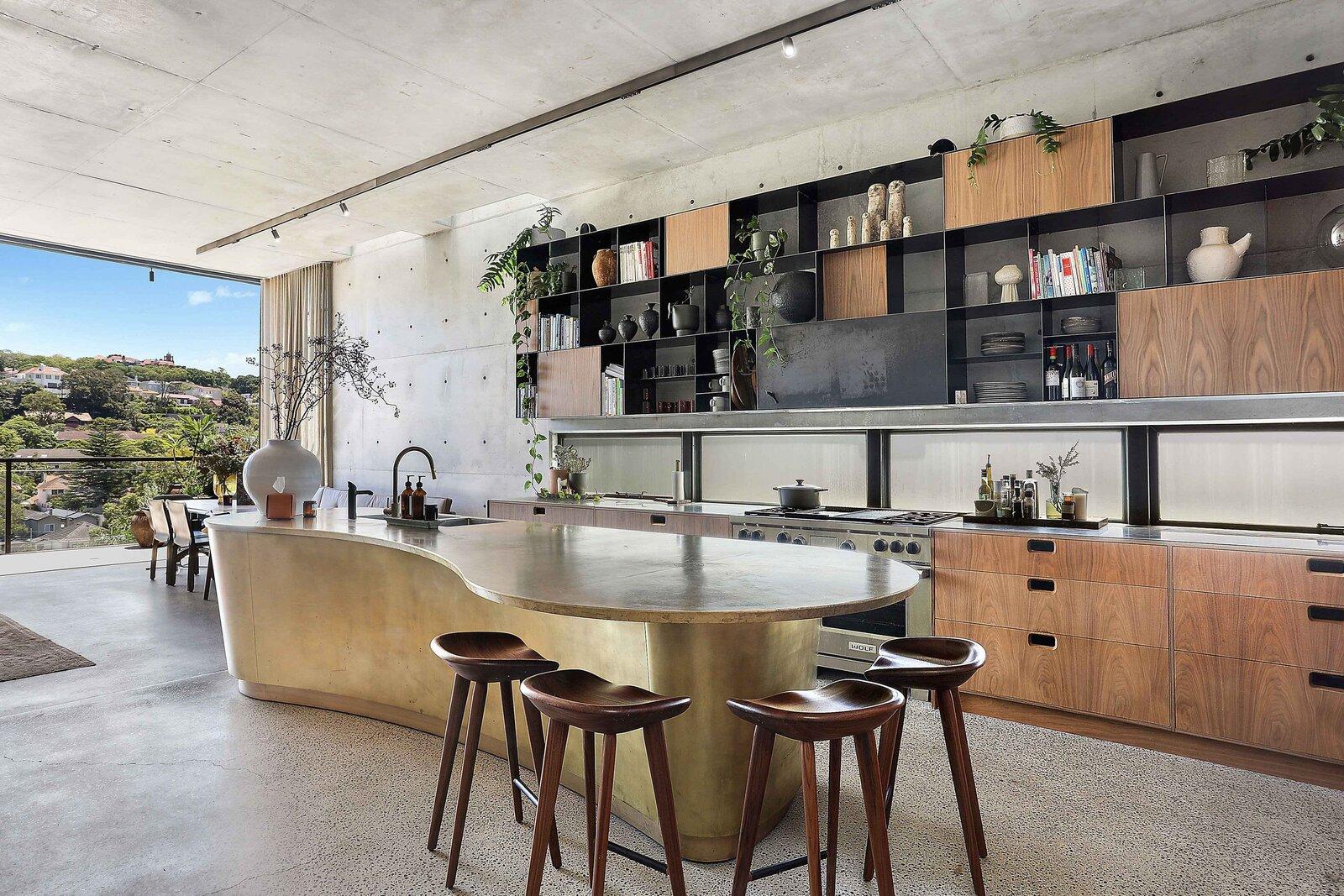 Sydney concrete home kitchen