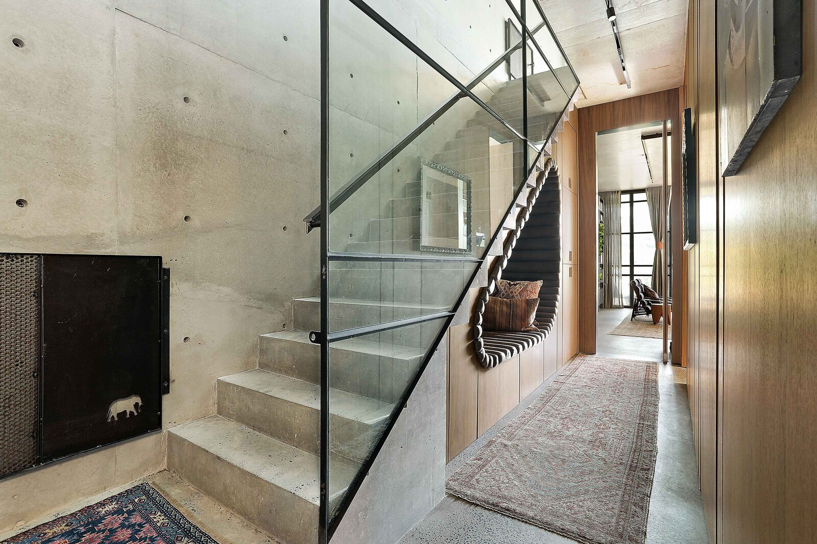 Sydney concrete home staircase