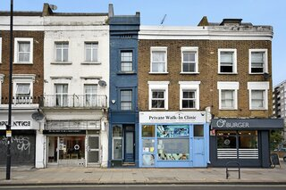 """The """"Skinniest House in London"""" Just Hit the Market at £950K"""