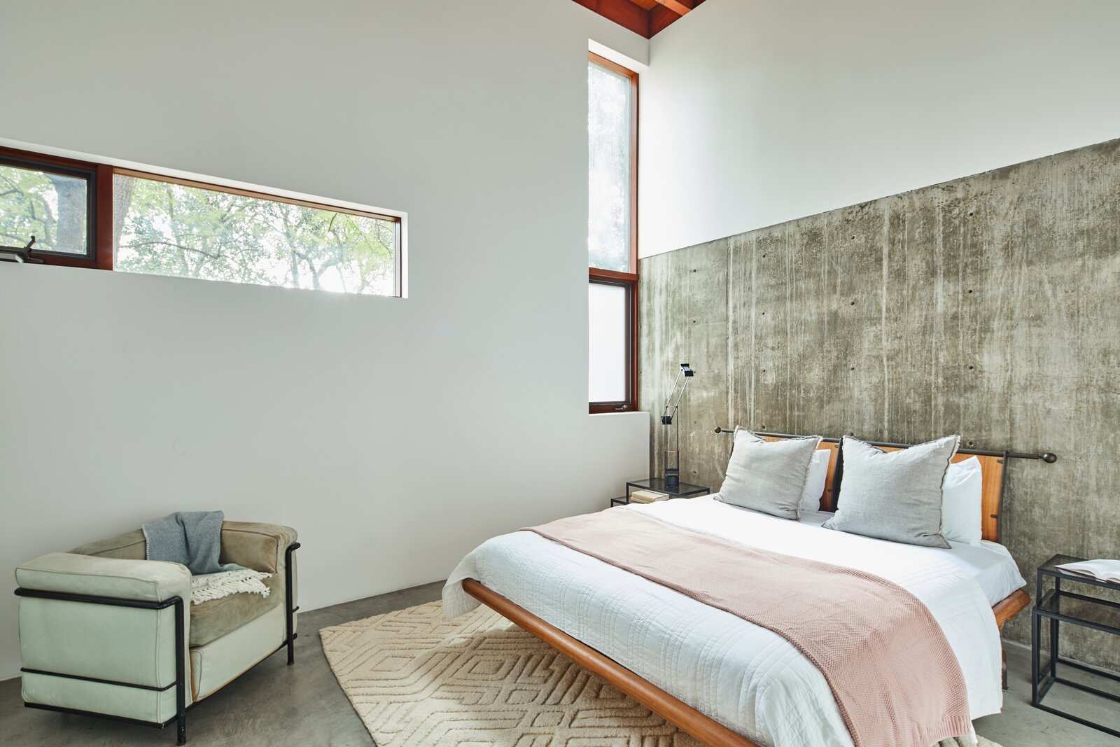 Beverly Hills compound bedroom