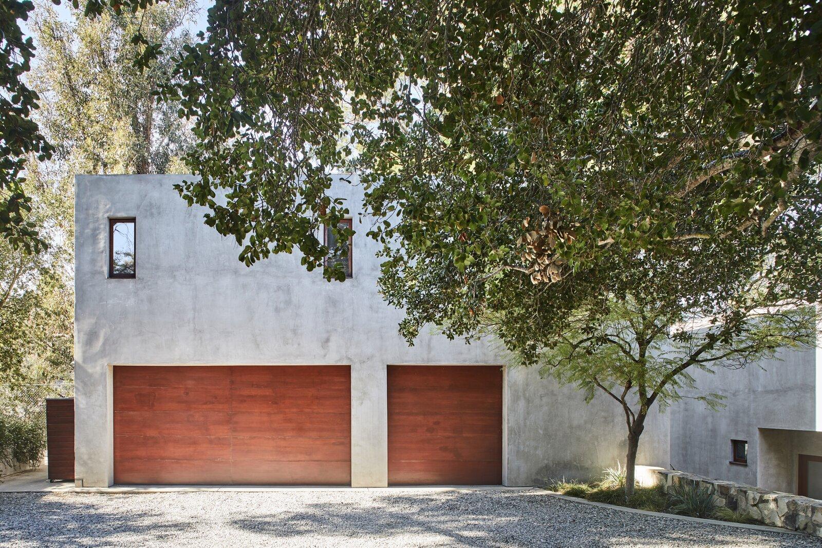 Beverly Hills compound exterior