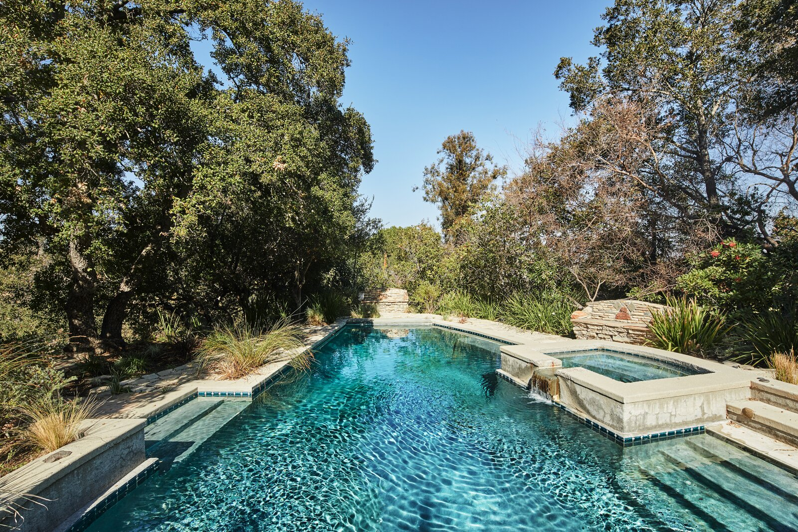 Beverly Hills compound pool