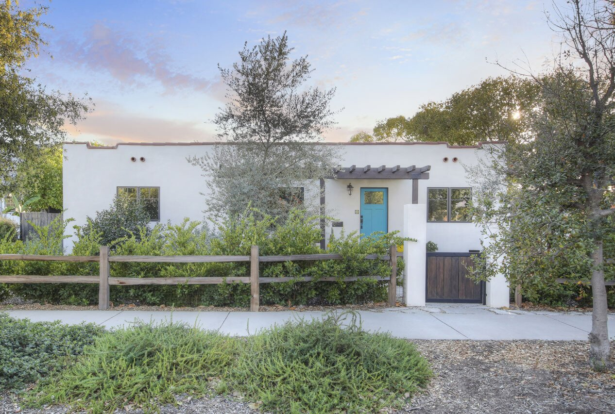 Originally built in 1927, the four-bedroom residence in Atwater Village has been recently spruced up.  Photo 1 of 15 in A Spanish-Style Charmer With a Backyard Studio Slides Onto the L.A. Market at $1.4M