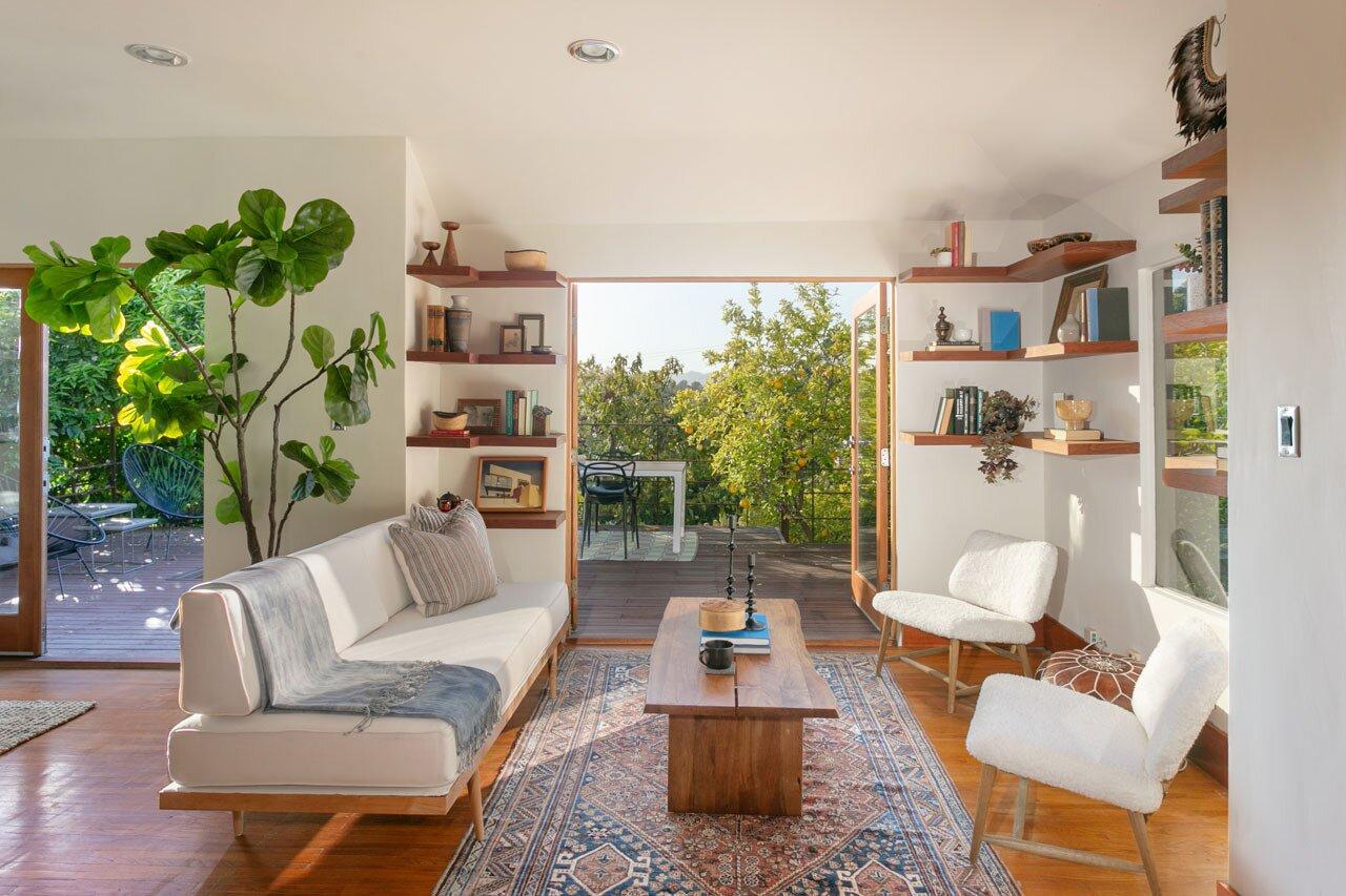 Echo Park real estate living room
