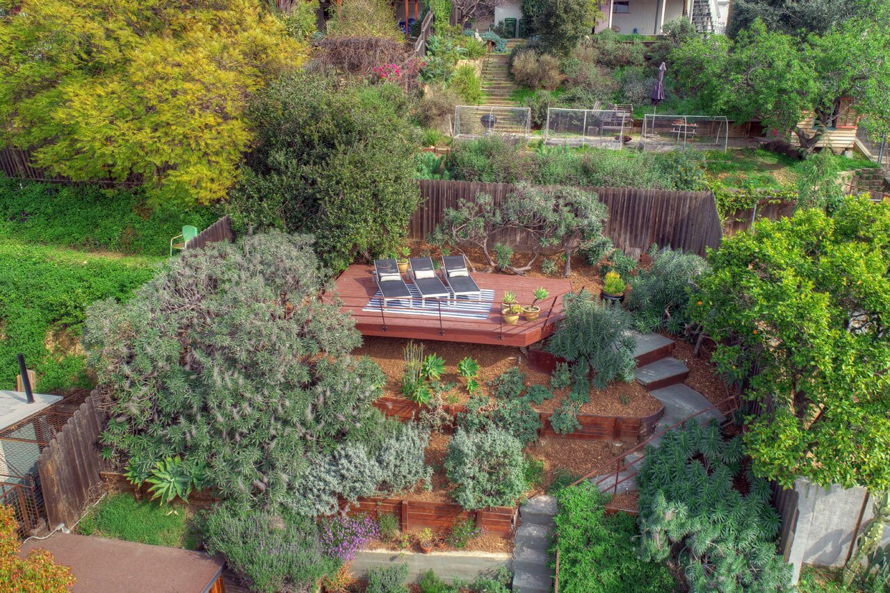 Echo Park real estate elevated deck