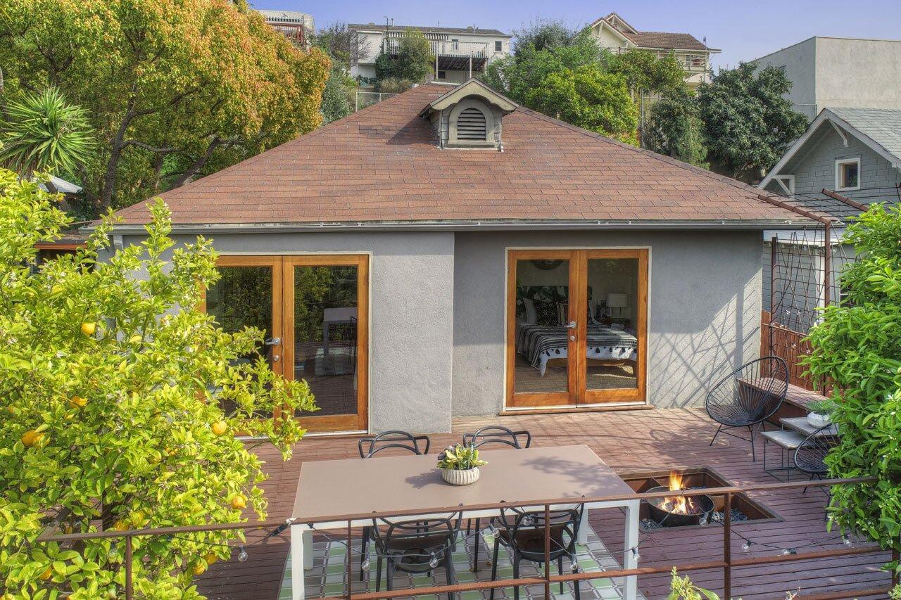 Echo Park real estate terrace