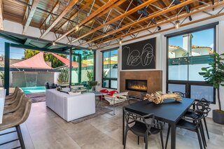 Asking $2.7M, This Striking West Hollywood Home Defies Its McMansion Neighbors