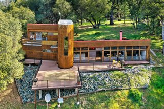 A Passive Solar Home Built Into the Hillside Asks $610K in Northern California