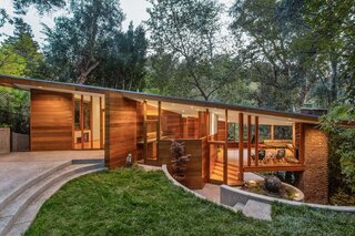 An Impeccably Restored John Lautner Home Seeks $2.5M in Los Angeles