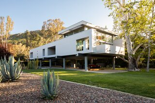 A Striking Home on Stilts Lists for $2.7M in the Santa Monica Mountains