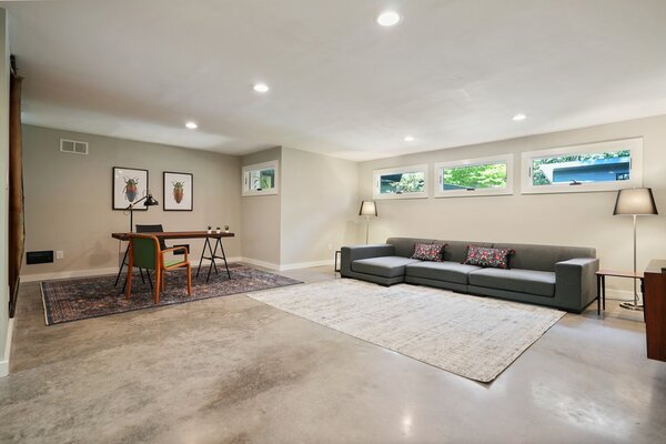 There is also a large bonus room included in the home which can easily serve as an office, gym, or guest suite.