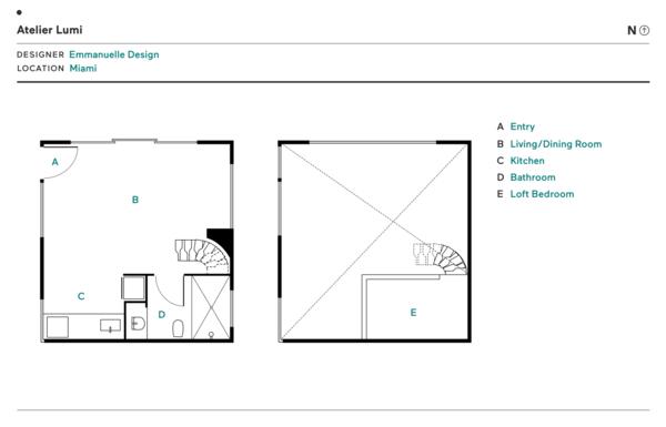 Atelier Lumi floor plan