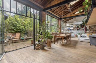 A Mechanic's Garage Turned Airy Loft Lists for $1.1M in Lyon, France