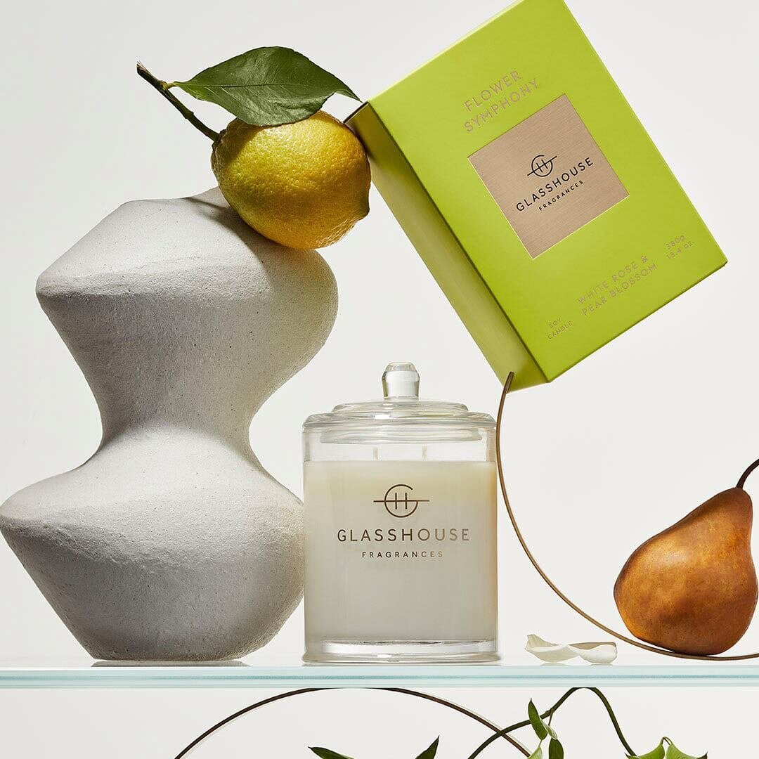 The founder of Australian candle company Glasshouse Fragrances dishes on how to transport yourself to different destinations using solely your sense of smell.