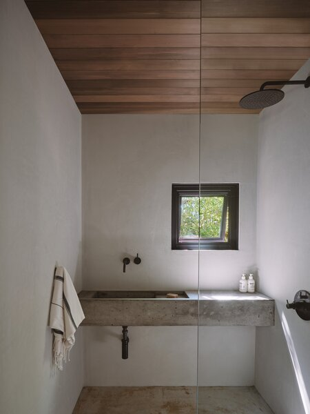 Modern Bathroom Concrete Floors Design, Concrete Floor Bathroom Ideas