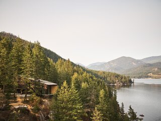 An Artist's British Columbia Cabin Offers Peace and Perspective