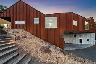 A Striking Cor-Ten Steel Home Seeks $3M in Sonoma