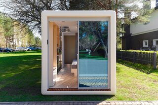 This Futuristic Prefab Tiny Home Is Now Available for $50K