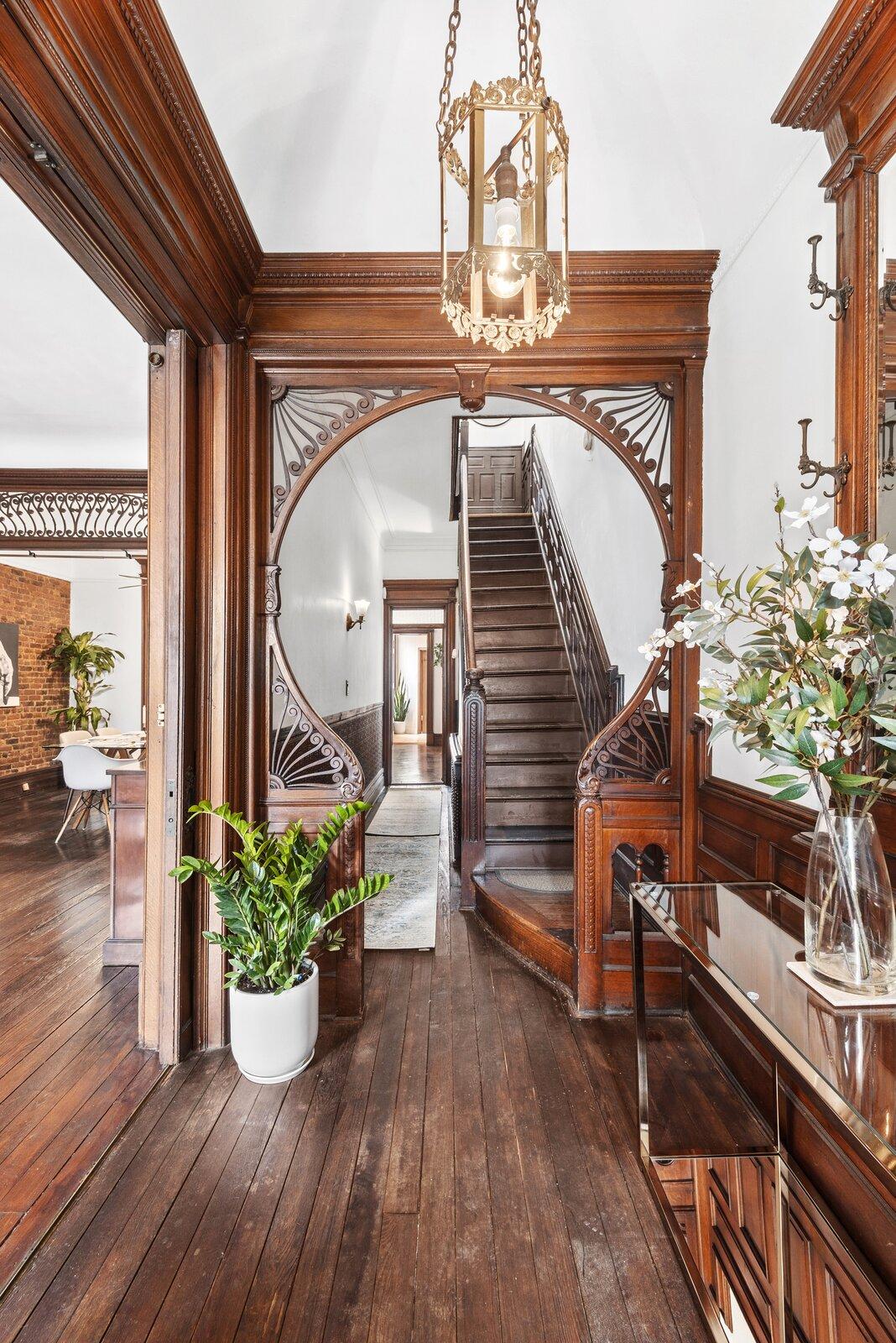 Brooklyn Brownstone foyer