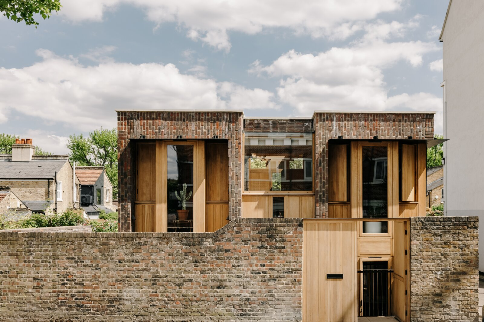 Southwark Brick House facade