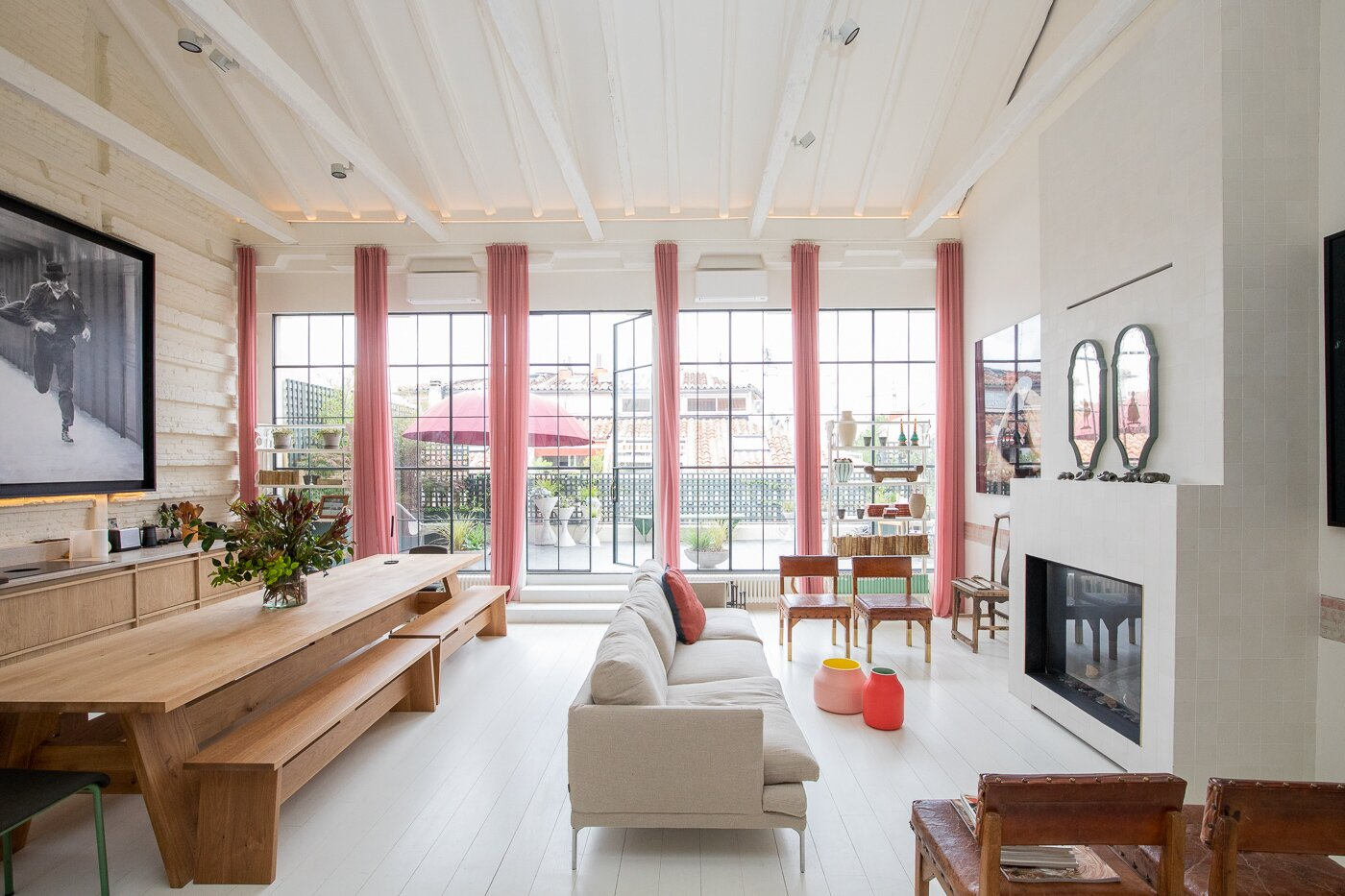 Madrid Penthouse  living area