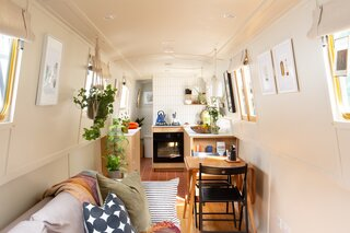 An Adorable Houseboat Named Olive Is Looking for a New Owner in London