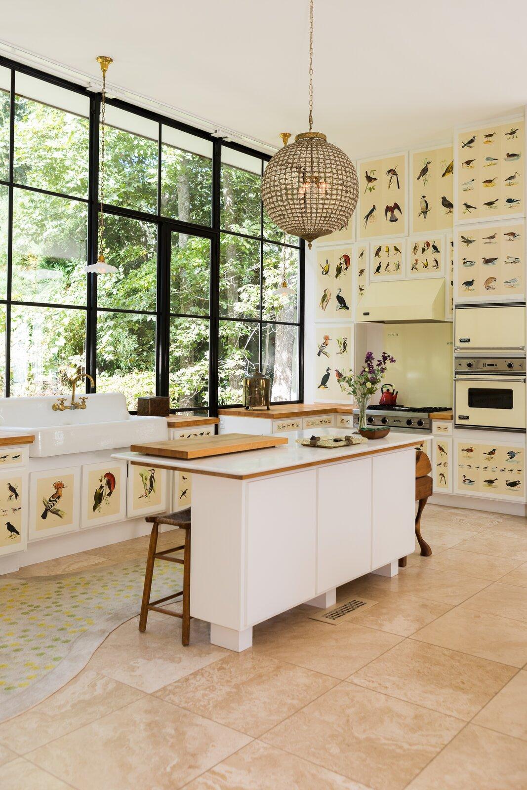 Glass House kitchen