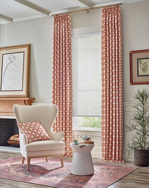 Krish's Floret pattern makes a bold, geometric statement.
